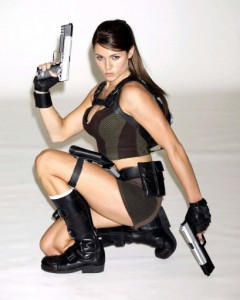 New face of Lara Croft