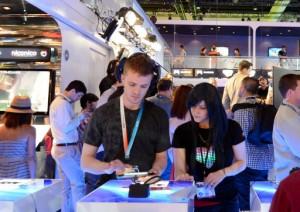 SCEA Playstation Booth E3 2012