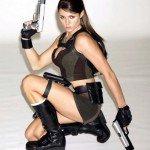 New face of Lara Croft