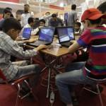 Mideast Iran Computer Games Exhibition