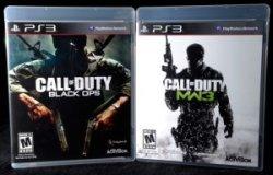 Call of Duty Modern Warfare 3 Black Ops