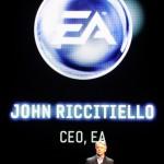 EA's CEO John Riccitiello opens EA (Ente