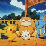 Pikachu Psyduck Togepy Squirtle In The Animated Movie Pokemon:The First Movie Ph