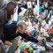 memorial for sandy hook elementary school shooting victims